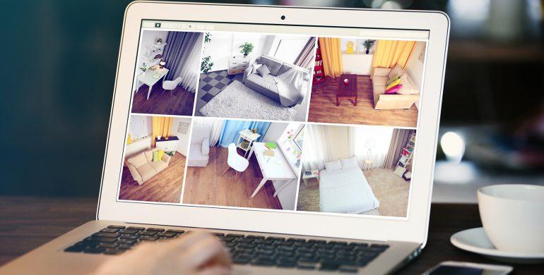 laptop multiple video camera feeds